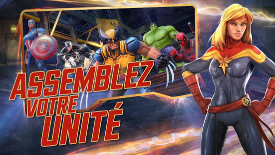 Aperçu MARVEL Strike Force - Img 1