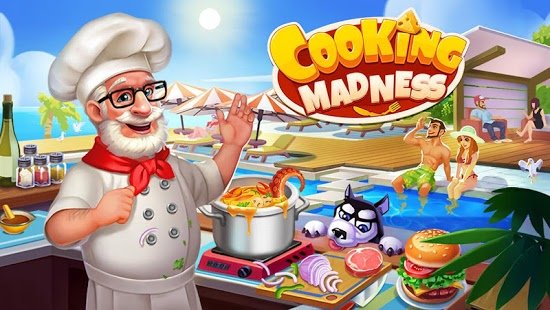 Aperçu Cooking Madness - A Chef's Restaurant Games - Img 1