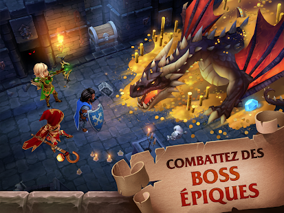Aperçu Forge of Glory: Match3 MMORPG & Action Puzzle Game - Img 1