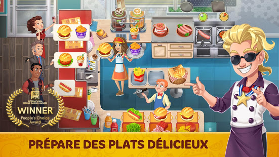 Aperçu Cooking Diary®: Best Tasty Restaurant & Cafe Game - Img 1