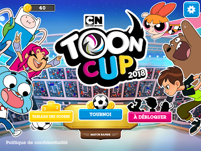 Aperçu Toon Cup 2018 - Le jeu de foot de Cartoon Network - Img 1