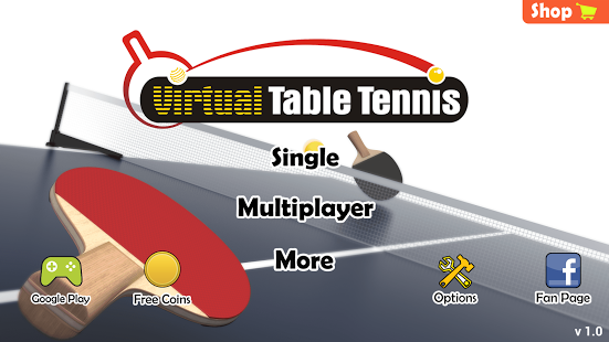 Aperçu Virtual Table Tennis - Img 2